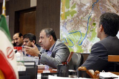 نقشه سفارشی شهرداری اهواز